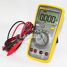 New V Fluke 15b Lcd Digital Multimeter Voltage Resistance Capacitance Meter