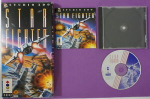 Star-Fighter-3DO-1995-with-Instructions-amp-Long-Box