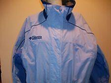 Women's Columbia Sportswear Blue Lavender Windbreaker Jacket Winter Ski Sport
