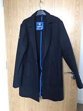 Men's Superdry Coat -large In Navy Blue