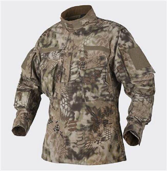 Helikon TEX CPU-Shirt Kryptek Highlander giacca shirt Snake Camo LR Large Regular