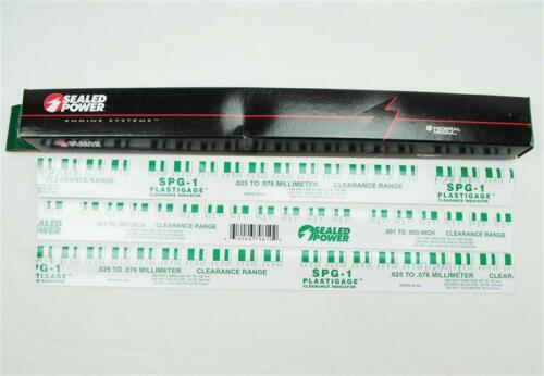 3x Plastigage Measuring Strip 0.001-0.003in Green Car 3x30cm Plain Shaft