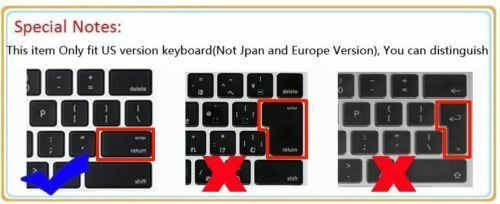 New Keyboard Skin Cover Protector for sony SVF15xxxx,SVF15216SCW SVF152100C