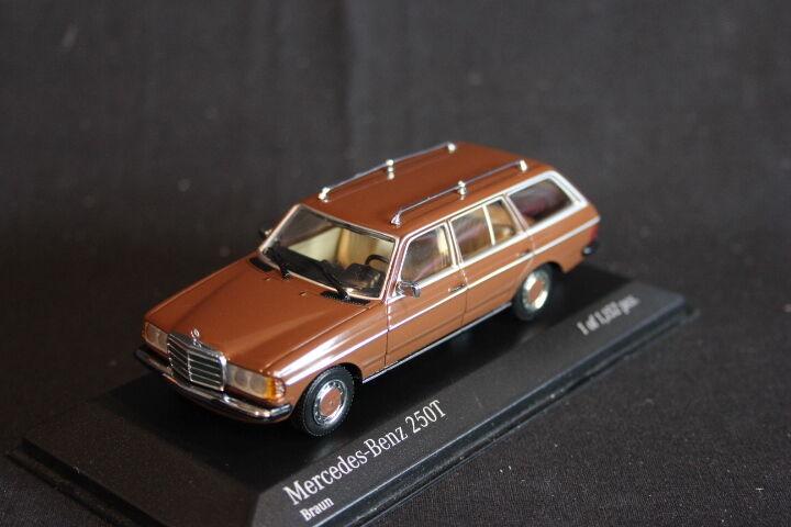 Minichamps Mercedes-Benz 250T 1980 1 43 Brown (JS)