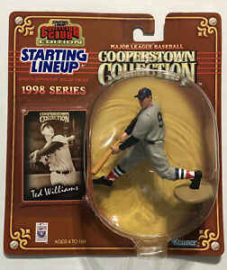1998 Ted Williams Starting Lineup SLU Collector Club Figure Boston Red Sox