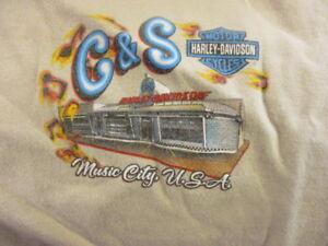 Harley Davidson Nashville >> Details About Cream C S Harley Davidson Nashville Tenn T Shirt Small Rk Stratman 100 Cotton