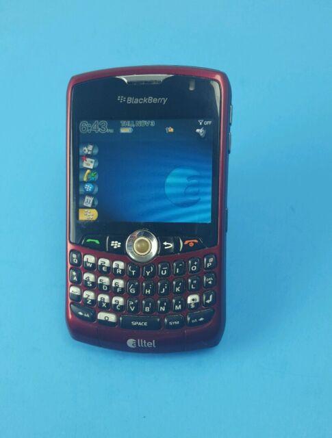 Blackberry Curve 8330 Smartphone Red Alltel