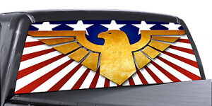 4 SIZES AVIAL -OUTLAW GUNS VuScapes Truck Rear Window Graphic
