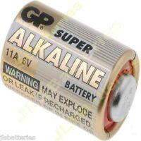 2 x GP Super L1016 Batteries  11A 6v MN11 A11 WE11 CX21A