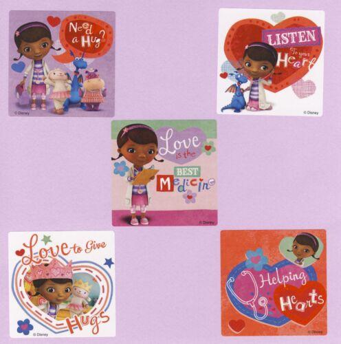 Large Stickers Rewards 15 Doc McStuffins Valentine/'s Day Party Favors