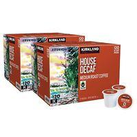 Kirkland Signature House Medium Roast Decaf Coffee 240 K-cup Pods 2 X 120 Counts
