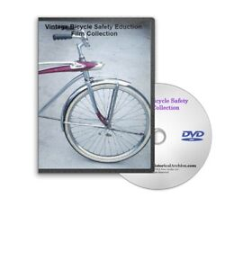 1950s Learn to Ride a Bike Biking Safety, Safe Bicycle Riding Training DVD A183