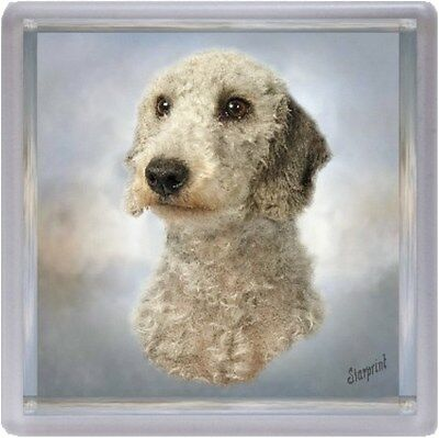 Bedlington Terrier Dog Coaster No 4 by Starprint