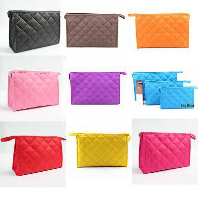 Women Cosmetic Makeup Travel Bags Purse Holder Wash Organizer Handbag M-609