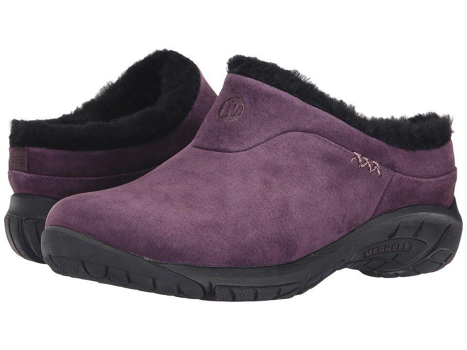 Merrell Encore Ice Fur Fur Fur Winter damen Clogs Mules NEW Größe US 7.5 8  8.5 844742