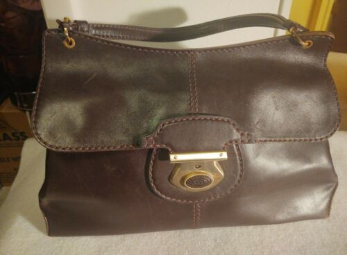 TODS Authentice Large  Handbag, Brown Leather