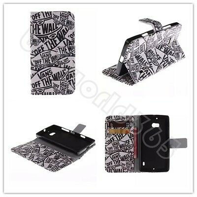 New Cartoon Zipper Flip Leather Wallet Case TPU Card Stand Cover For Cele phones