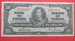 Willie-Canada-10-Dollars-1937
