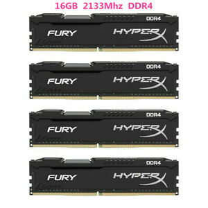 16Go-32GB-64GB-DDR4-2133MHz-PC4-17000-Pour-Hyperx-Fury-DIMM-Desktop-Memoire-DL