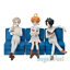 SEGA The Promised Neverland Premium Figure Emma Norman Ray set Anime 2019