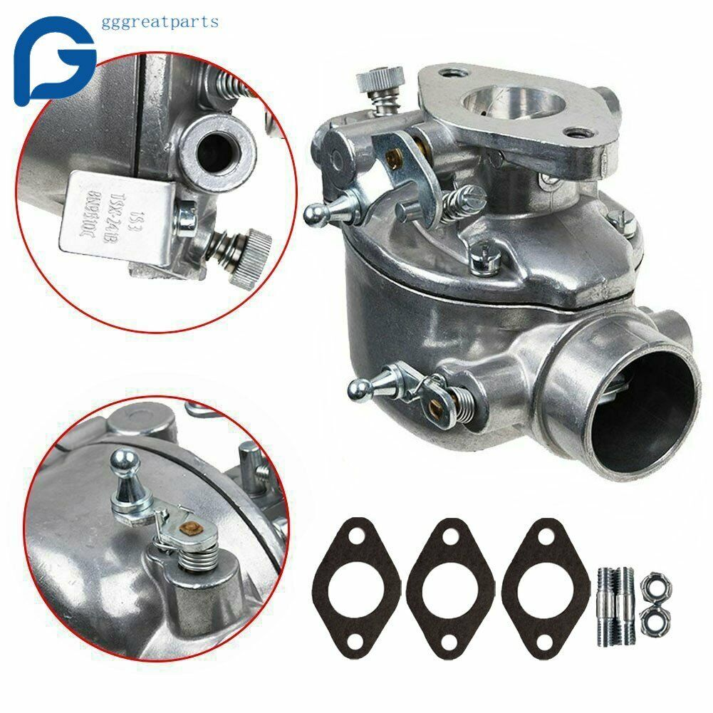 Toolyuan 8N9510C Carburetor for Ford Tractor 9N 8N 2N Replace 8N9510C-HD TSX241B TSX-241B with Gasket and Bolts