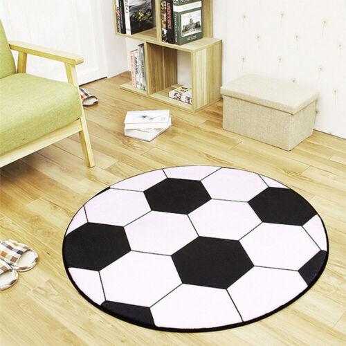 Anti-slip Floor Rug Mat Carpet Home Living Room Kids Bedroom Round 3D Ball