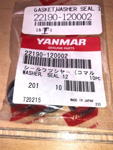 Seal 12 22190-120002 Yanmar Washer