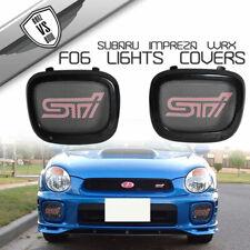 Jdm Subaru Genuine Impreza Wrx Sti Gdb Fog Light Covers Rh Side Blue Oem 02 For Sale Online Ebay