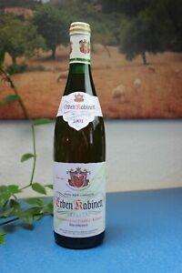 Weinflasche 1991 Erben Kabinett  Franz W. Langguth Rheinhessen Weißwein