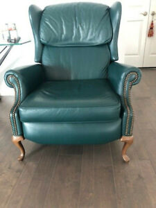 Incredible Details About Ethan Allan Leather Recliner Short Links Chair Design For Home Short Linksinfo