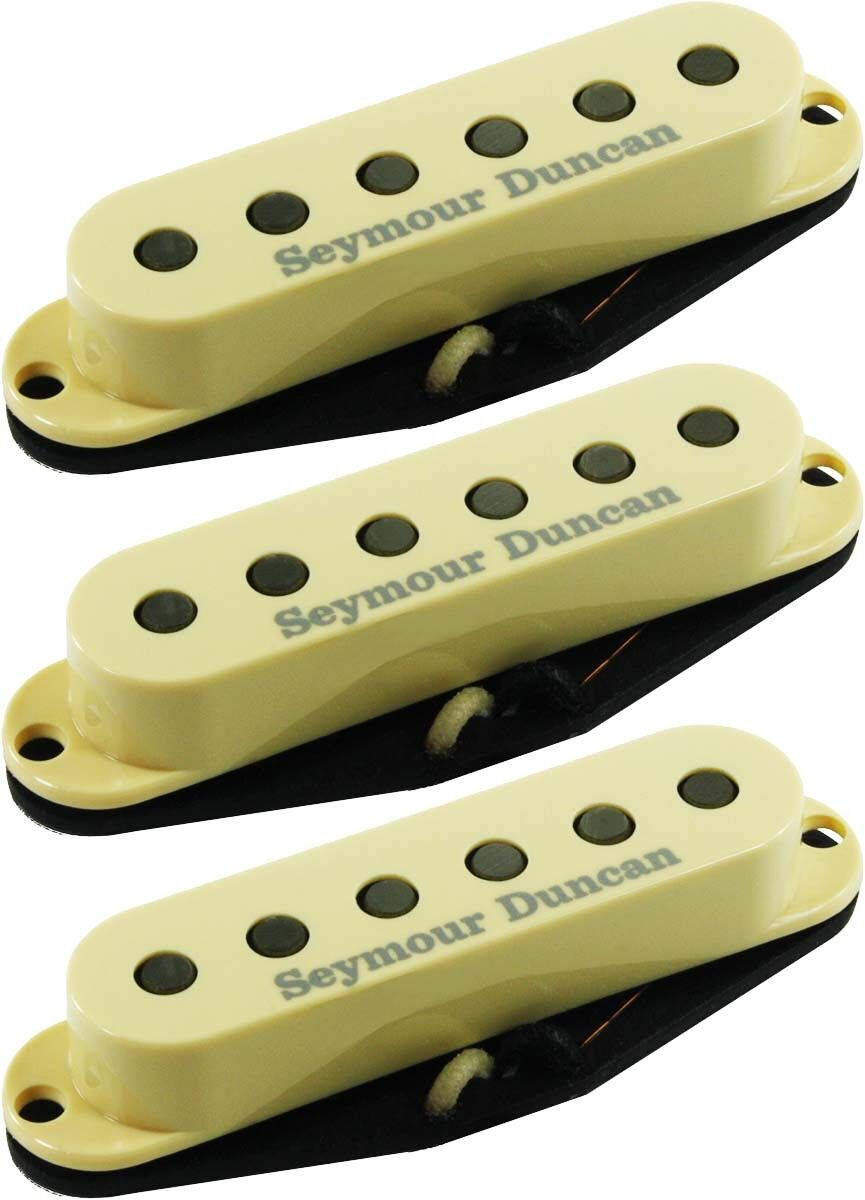 Seymour Duncan APS-2-CSET Alnico 2 Pro CALIBRATED Vintage 3 Pickup Set, Cream