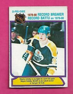 1980-81-OPC-3-OILERS-WAYNE-GRETZKY-RECORD-BREAKER-VG-CARD-INV-D1953