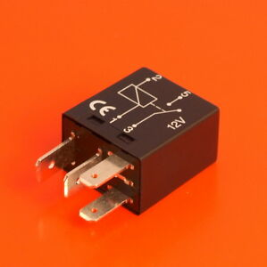 Details about High Quality Micro Relay 12V 20 Amp 4 Pin Normally Open on
