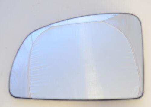 GLACE POLIE Miroir Extérieur Gauche Convexe Chrome Opel Meriva A 03-10