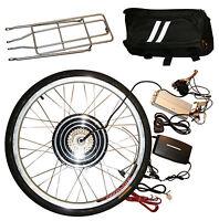 Electric E Bicycle Cycle Bike Conversion Kit 26 Front Wheel 36v 250w Hub Motor