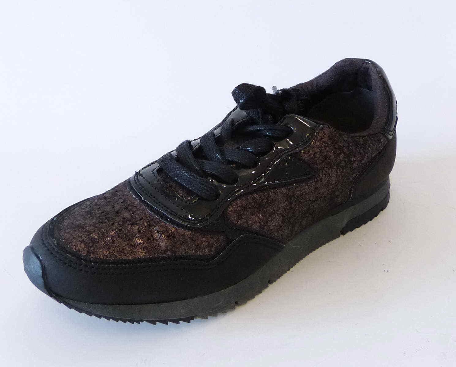 499befae96f06 Tamaris Sneaker 098 black Halbschuh brown gold Schnür 23601 ocytwd2380- Women s Trainers