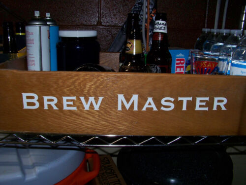 BREW MASTER free shipping on this top quality decal! Craft Brew Folks Decal