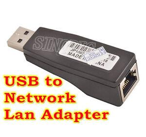 10100 Mbps USB    Male    to    Female       RJ45    Cat5e LAN Network Converter Adapter Dongle