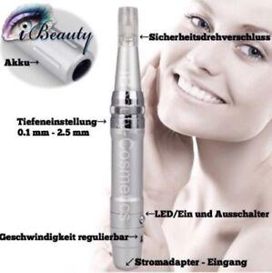 Permanent-make-up-Geraet-Maschine-Makeup-Microneedling-Derma-Pen-kabellos
