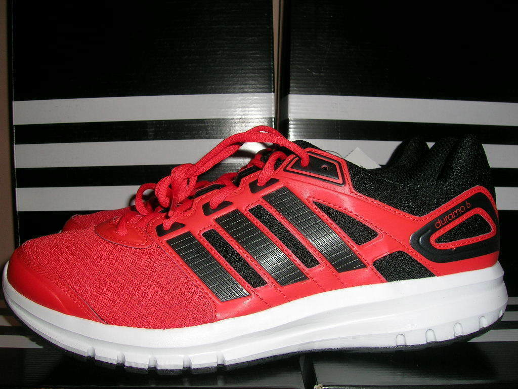 NEW ADIDAS DURAMO 6 M Running Shoes Red/White/Black MENS Price reduction Cheap and beautiful fashion