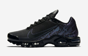Details about Nike Air Max TN Plus SE Black Iridescent sizes uk 6 11 special limited edition