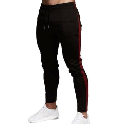 Men/'s Casaul Coupe Slim Jogging Pantalon De Sport Gym Entraînement Jogging Skinny Pantalon