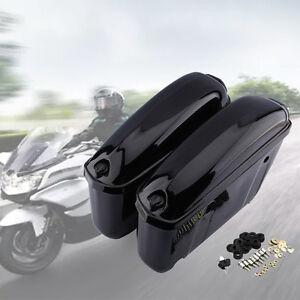 2x motorrad seitenkoffer koffer hartschalenkoffer. Black Bedroom Furniture Sets. Home Design Ideas