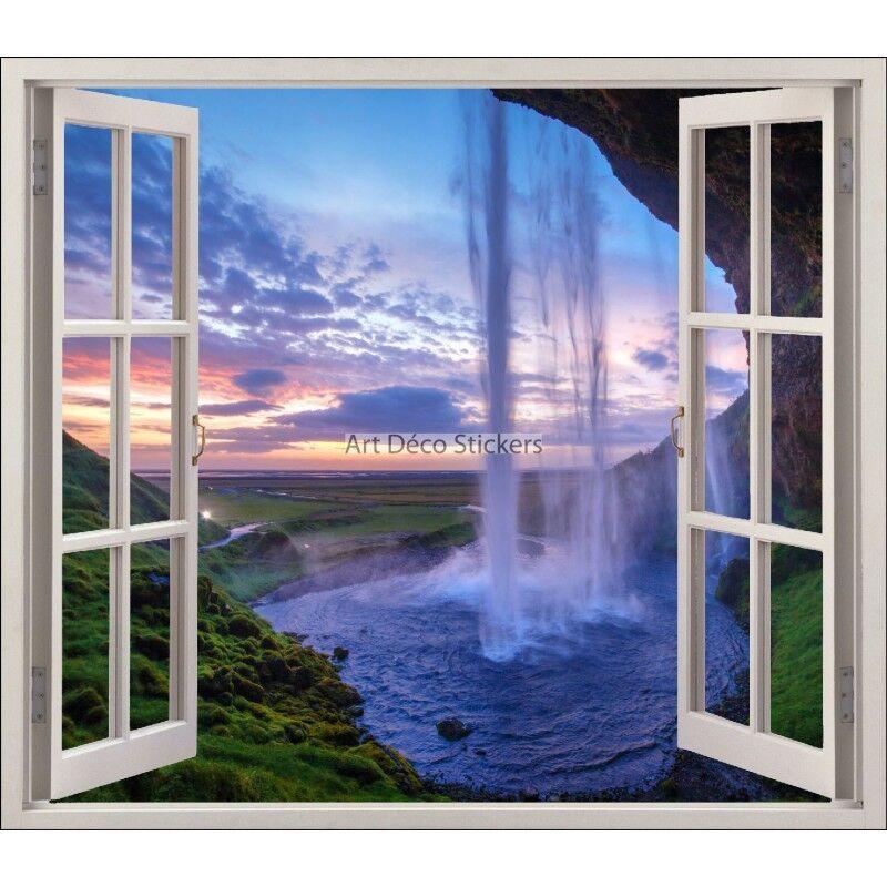 Aufkleber Fenster Schein Auge -fall Wasser- Ref 5454 5454