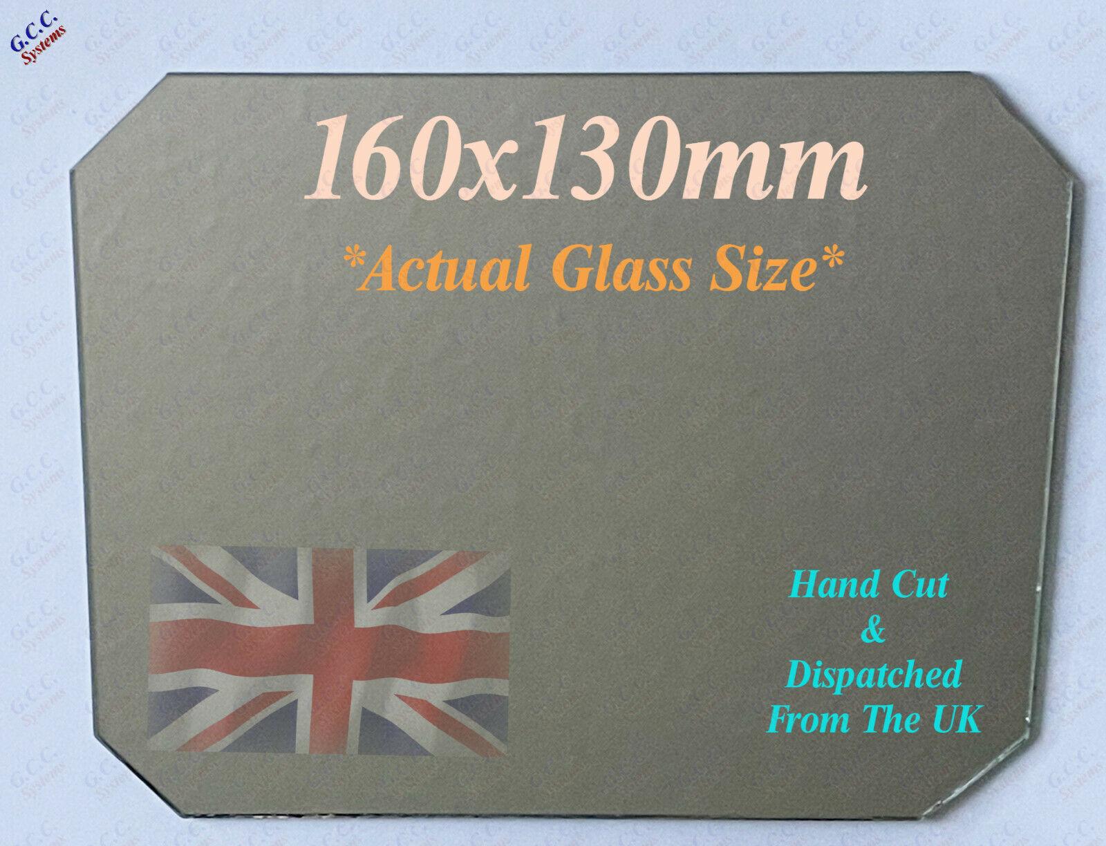160 x 130mm Mirror Glass Plate 4 Heated 3D Printer Bed Monoprice Mini