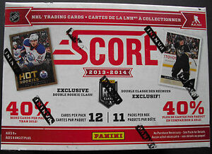 2013-14-PANINI-score-Hockey-BOX-NHL-Hockey-su-ghiaccio-OVP-SEALED-132-CARDS-tramite-BOX