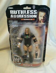 WWE-Wrestler-Triple-H-Ruthless-Aggression-Series-32-Figure-Jakks-2008-Unopened