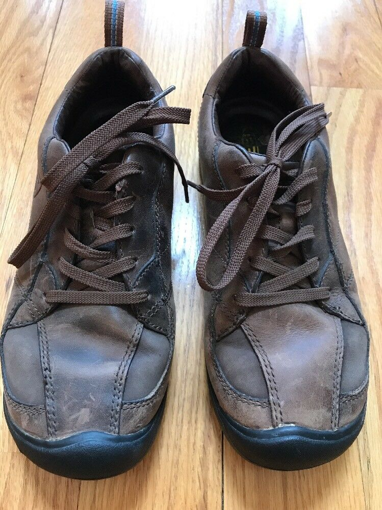 KEEN Brown Leather Hike Trail Lace Up shoes Sneakers Women's Size 7