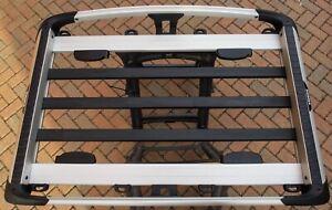 Thule Roof Carrier Basket Trail M 823 Silver | eBay