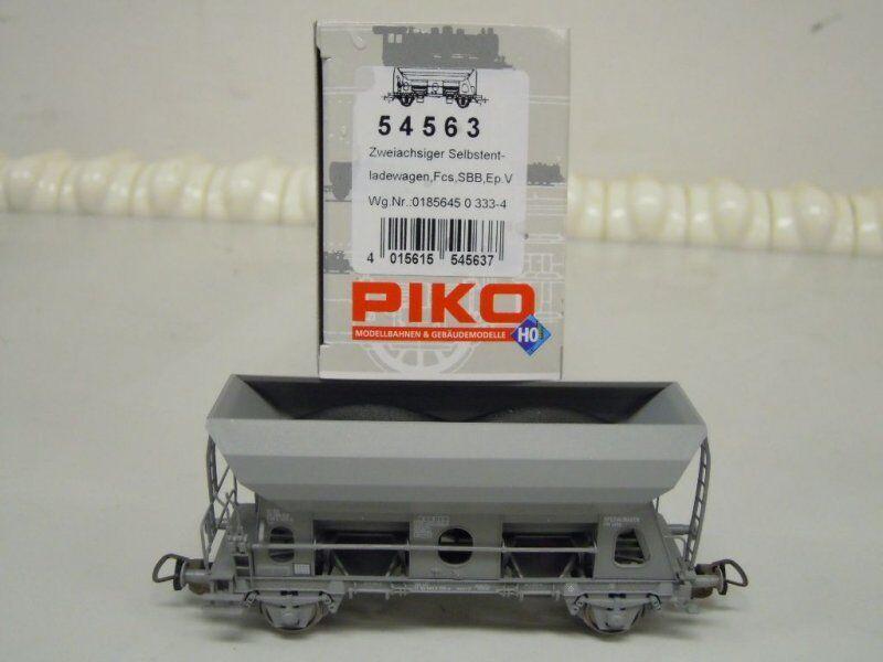 Piko 54563 Vagoni Aperti Fcs Delle SBB Ep. 4 5 Nuovo in Confezione Originale